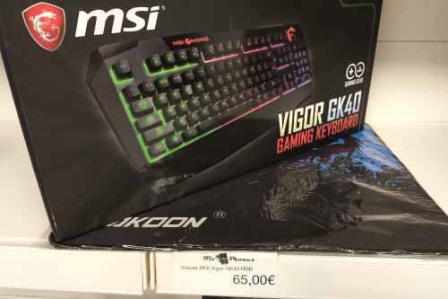 clavier msi gamer