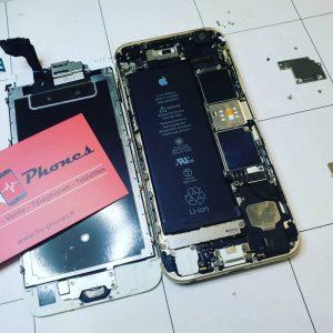 vitre cassee iphone